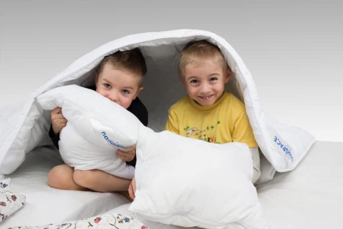 Protiroztočové lůžkoviny pro děti alergiky