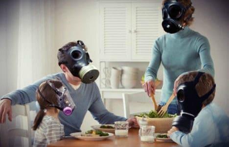 Vnitřní znečištění